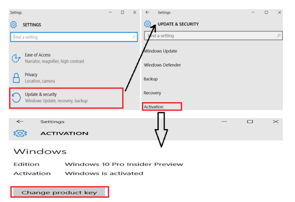 How to Change Windows 10 Product key Home, Pro, Enterprise ...